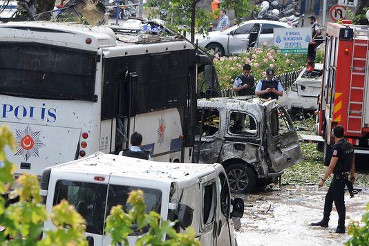 L'attaque du 7 juin à Istanbul.