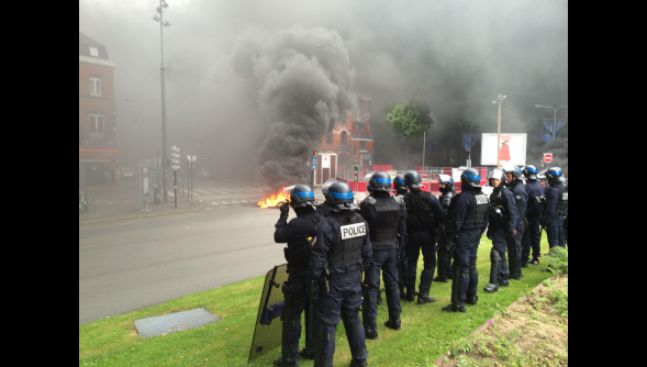A Lille hier matin