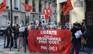 Rassemblement solidaire à Paris (archive)