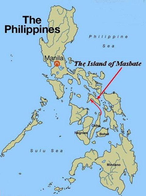 L'île province de Masbate