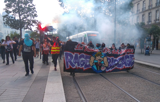 La manifestation de Nantes