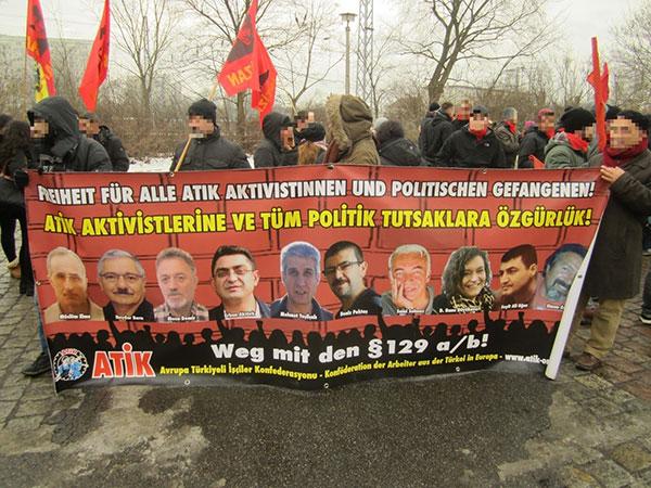 Manifestation solidaire pour ATIK