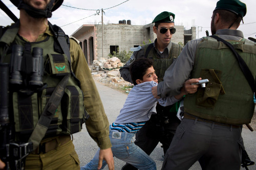 Arrestation en Palestine (archive)