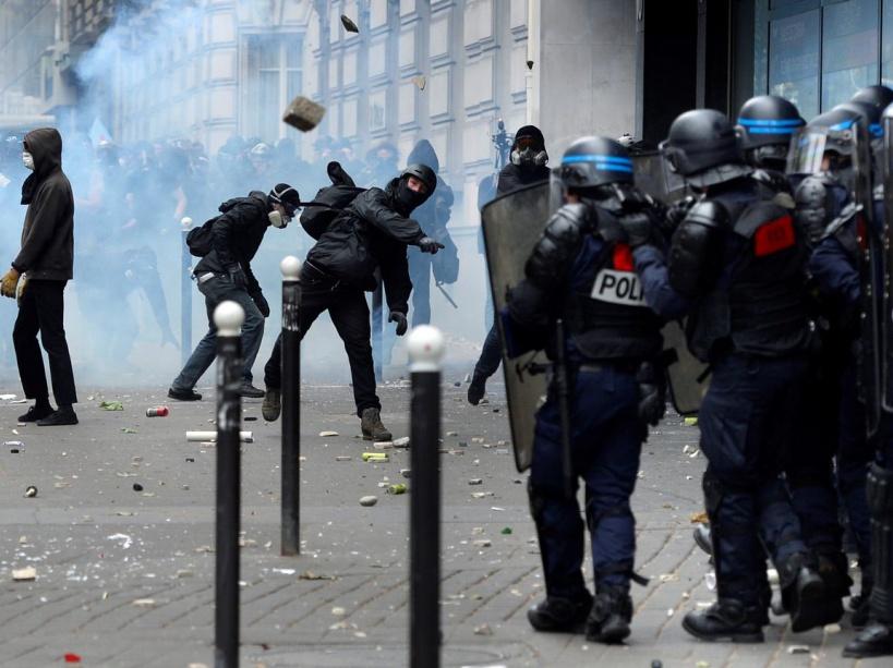 Les affrontements de Paris du 14 juin