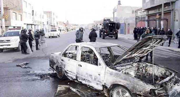 Après les affrontements, à Puno