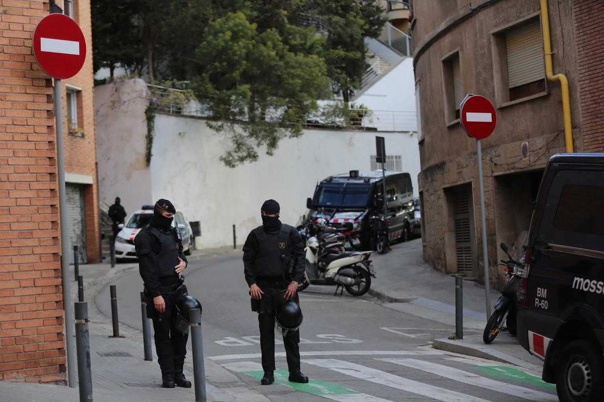 L'opération policière du 13 avril à Barcelone