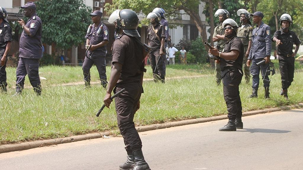 Déploiement policier à Doala