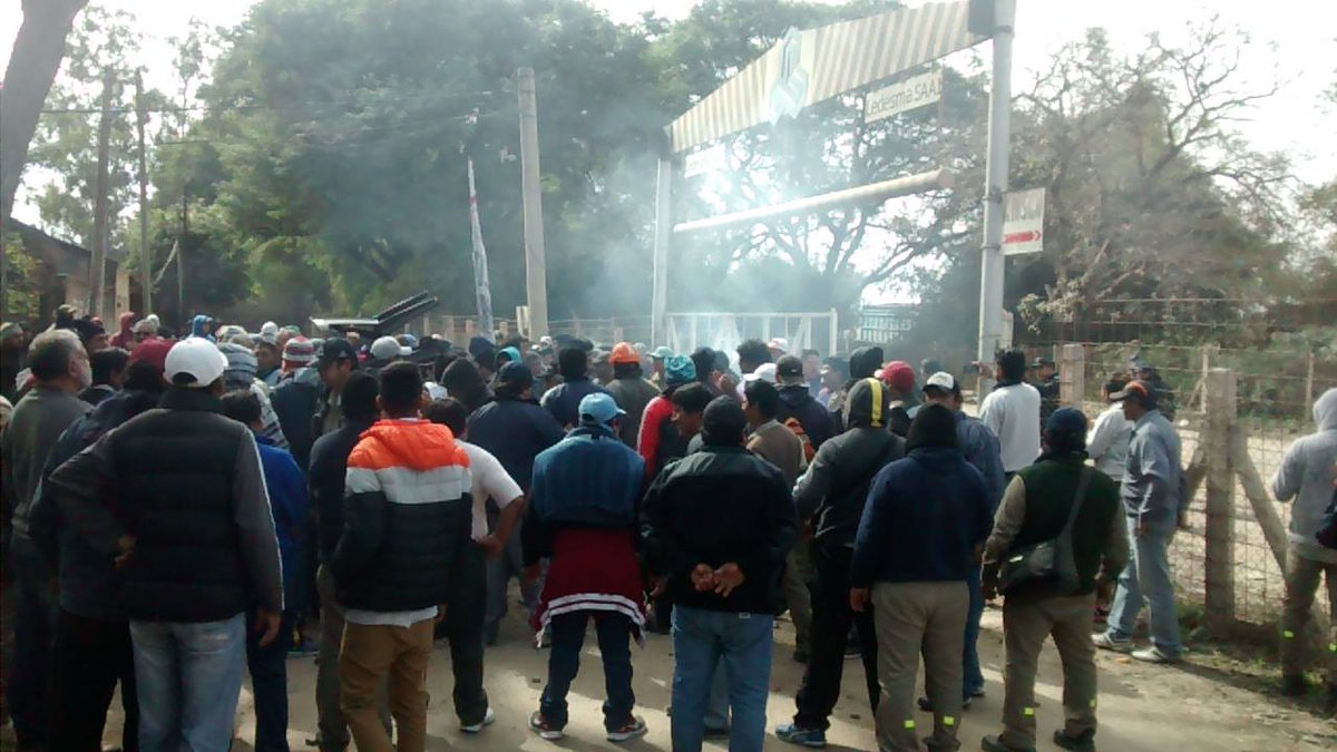 La répression à Jujuy