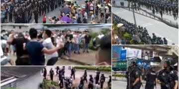 Les affrontements à Lubu