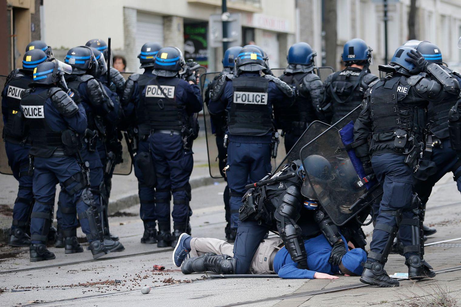 Arrestation à Nantes