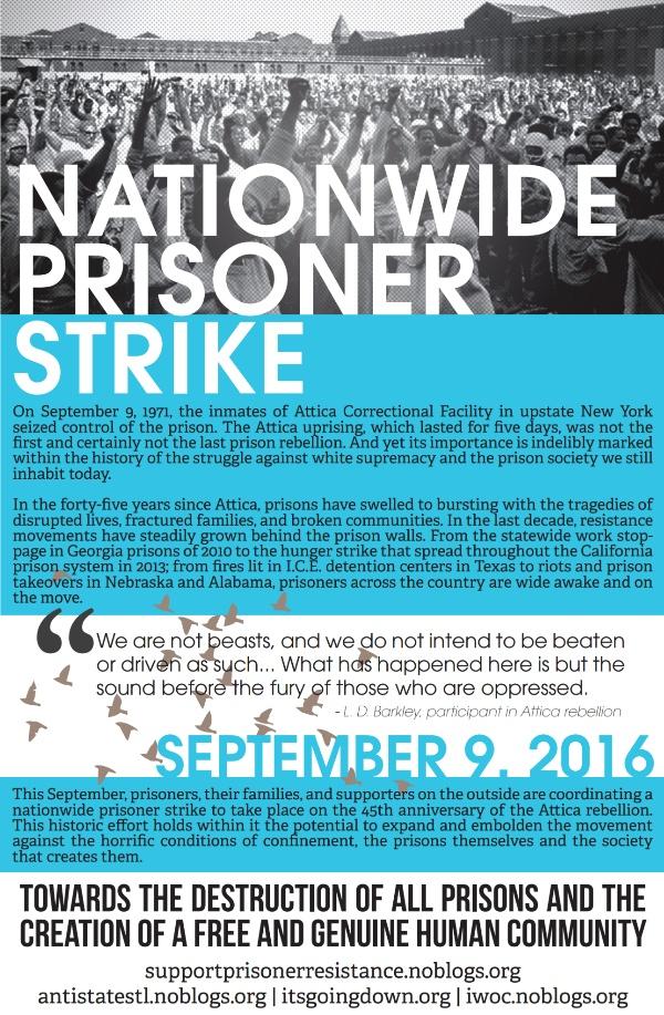 Grève des prisonniers