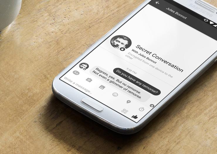 Facebook Messenger adopte Signal