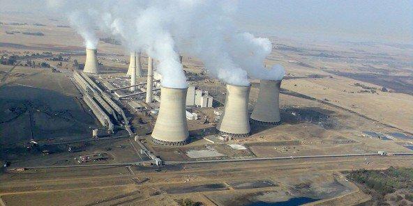 La centrale électrique de Mpumalanga-Middelburg-Arnot