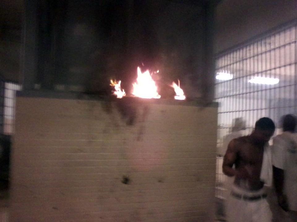 Emeute au William C. Holman Correctional Facility