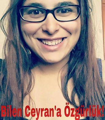 Liberté pour Bilen Ceyran !