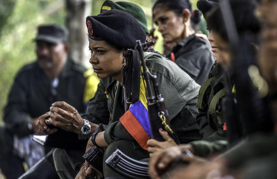 40% des combattants des FARC sont des femmes