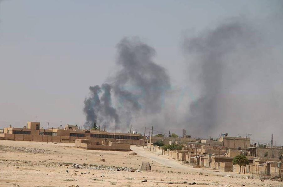 Bombardements du régime à Hassakah