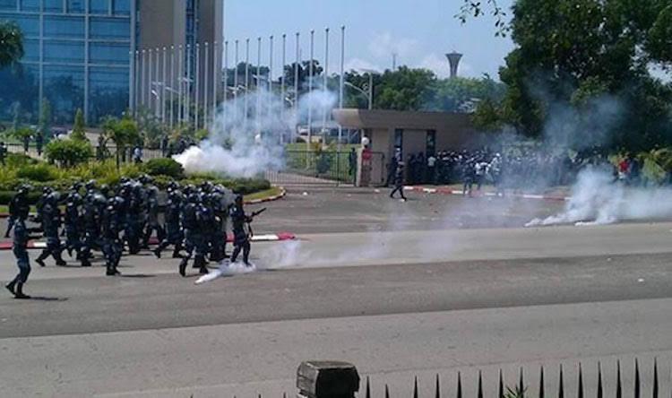La répression du 25 juillet à Libreville