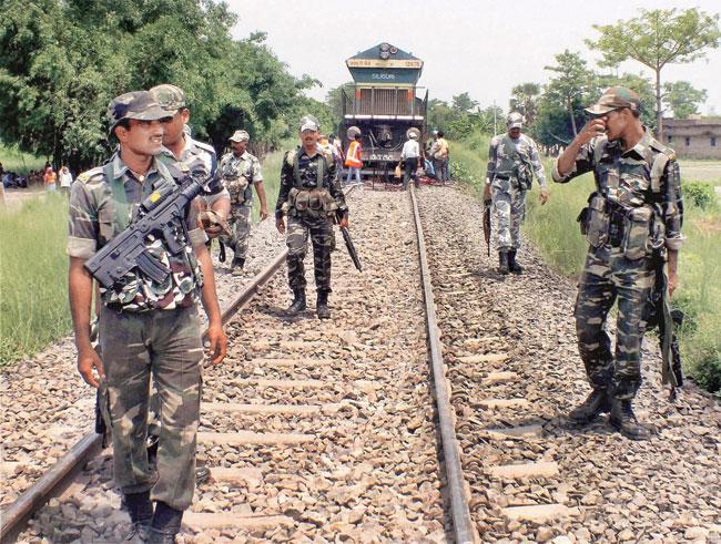 La police du Chhattisgarh dans une opération anti-maoïste