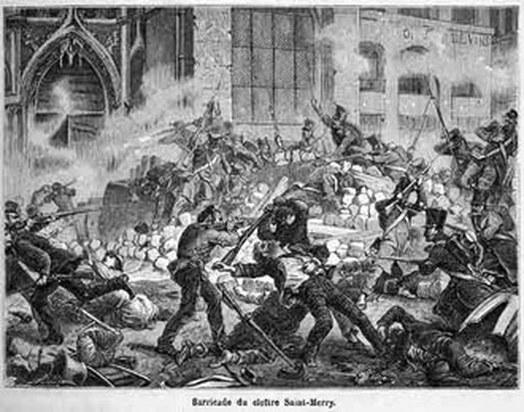 L'assaut de la barricade