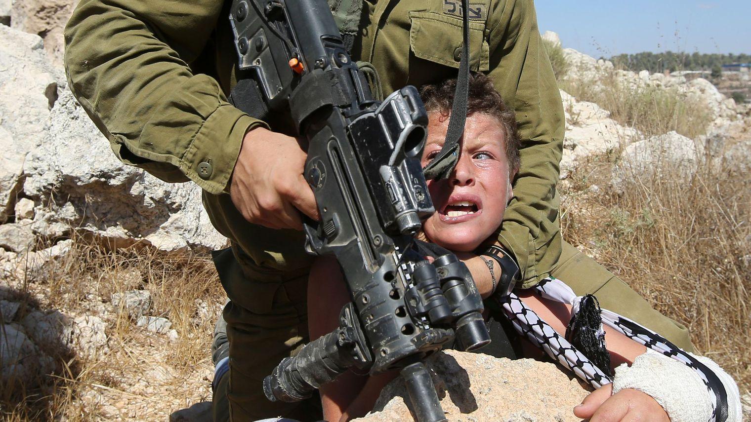 Arrestation d'un enfant en Cisjordanie occupée (archive)