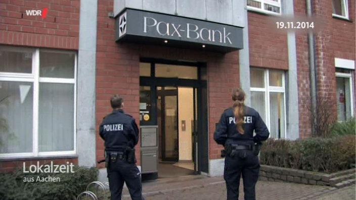Après l'attaque de la banque vaticane