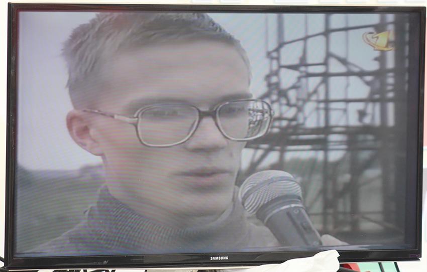 Projection d'une vidéo de soutien à Andreï Sokolov ce samedi à Zürich