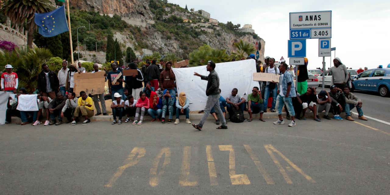 Migrants à Vintimille