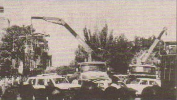 Pendaisons en masse à Tabriz, à l'été '88