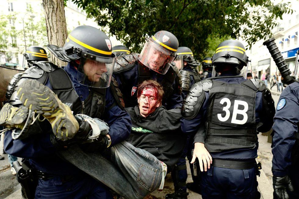 Arrestation aujourd'hui à Paris