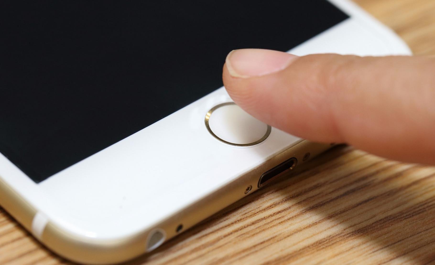 Le capteur Touch ID