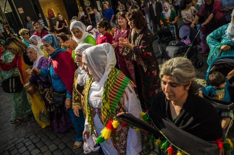 A une précédente édition de la semaine culturelle kurde