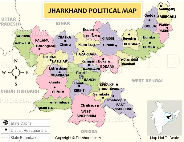 L'état du Jharkand