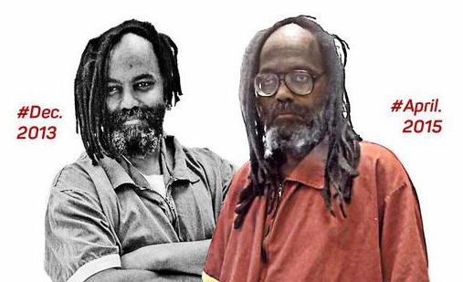 Mumia Abu Jamal souffrant e.a. d'une hépatite non soignée