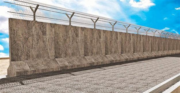 Modèle du mur turc