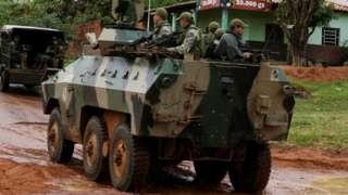 Opération anti-guérilla au Paraguay (archive)