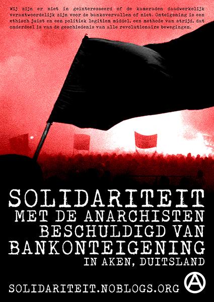 Affiche solidaire aux Pays-Bas