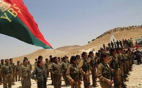 Les YBS, milices affiliées au PKK dans le Mont Shengal
