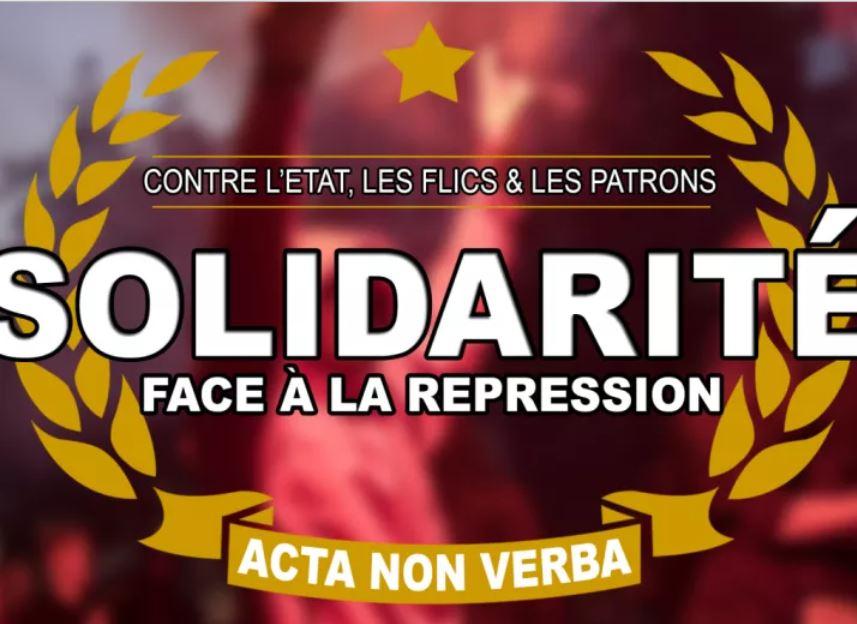 Solidarité avec Alternative Libertaire!