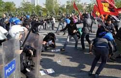Les affrontements à Ankara