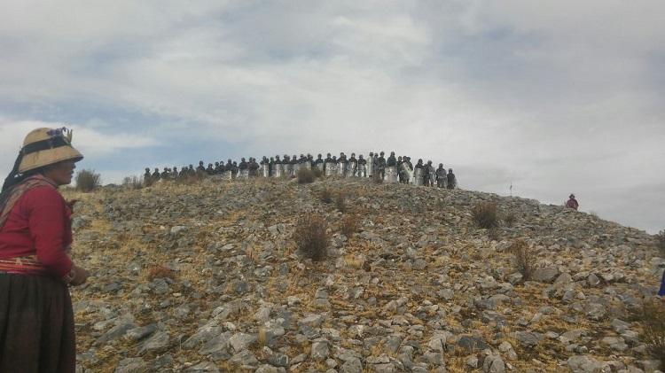 Manifestation à Las Bambas