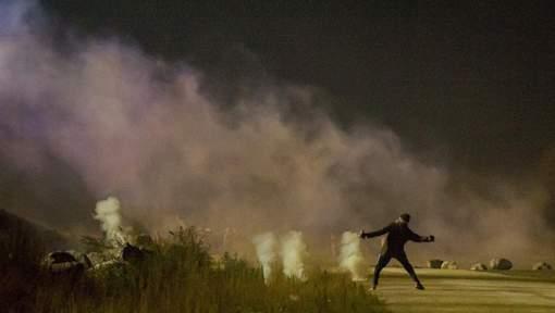 Les affrontements de ce dimanche à Calais