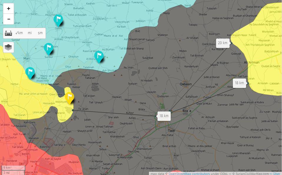 Les QSD repartent vers Al-Bab depuis le front d'Afrin