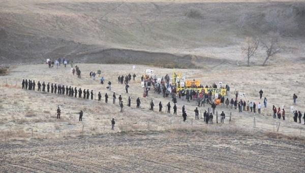 Un face à face à Standing Rock