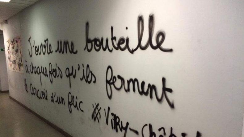 Un des tags de la Sorbonne