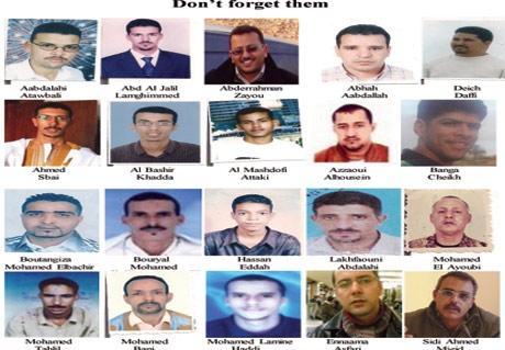 Les prisonniers du groupe de Gdeim Izik