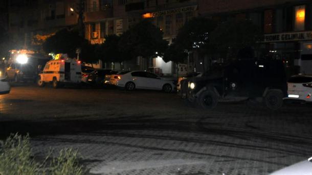 L'attaque du siège de l'AKP à Kiziltepe