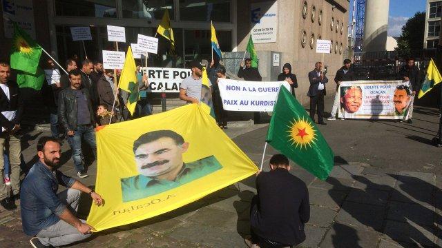 Manifestation des Kurdes à Rennes, la semaine passée