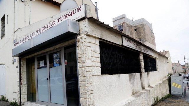 Le local attaqué le 4 décembre 2015 à Marseille