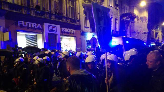 Affrontements à Poznan